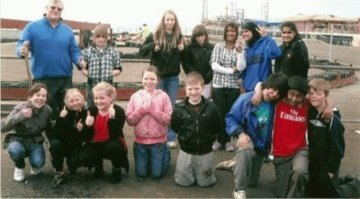 Blackpool Youth day out