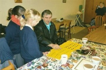 Braille learning session