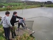 Fishing at Pendle View